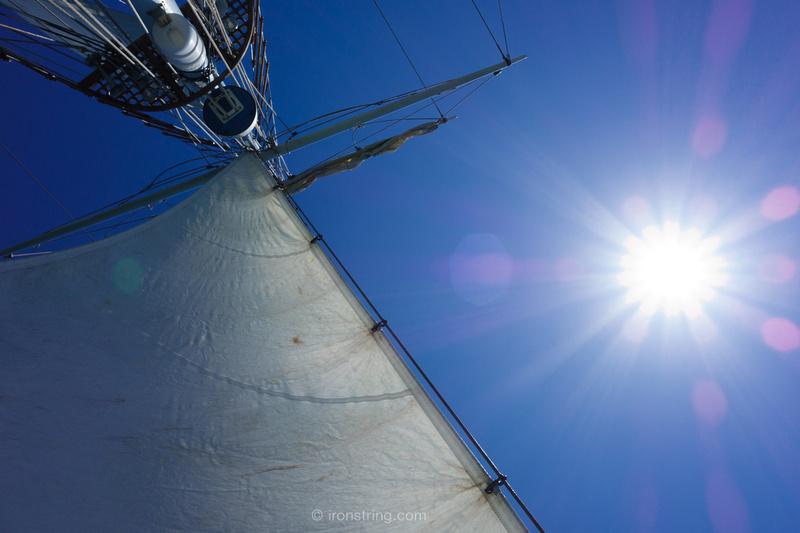 Amazing Grace topsail schooner