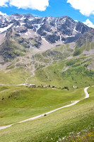 Col du Galibier from the Lautaret side.