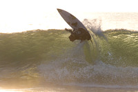 Photo MARK JOHNSON/IRONSTRING. Parker Coffin at Jefferys Bay, South Africa. August 5, 2013.